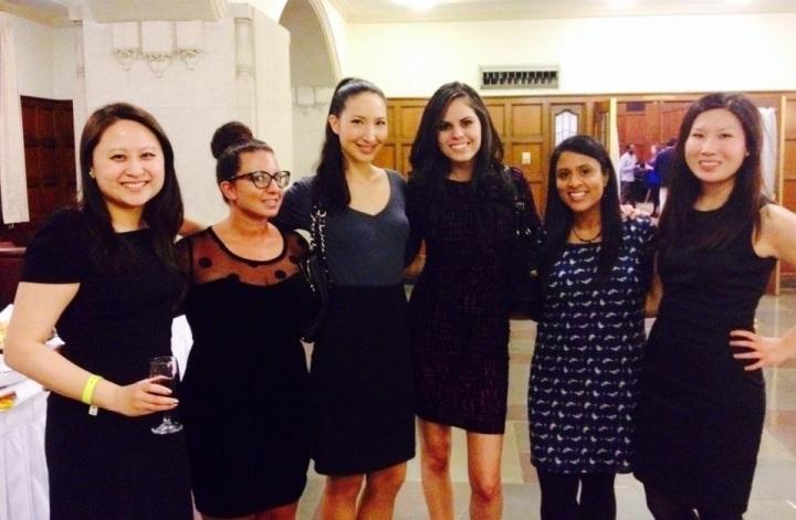 MJRL Editors at APALSA's 2014 Origins Banquet